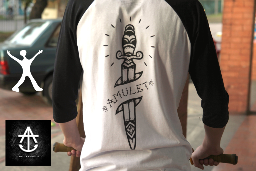 Camisetas Amulet - Tienda Flatland - Free Culture Shop
