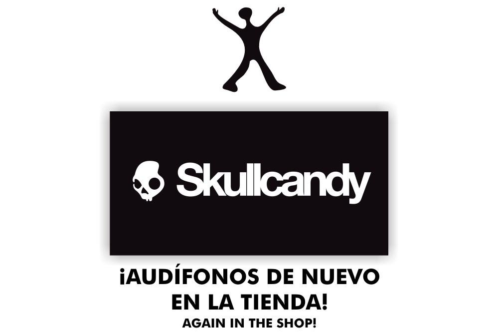 Skullcandy - Tienda Flatland - Free Culture Shop