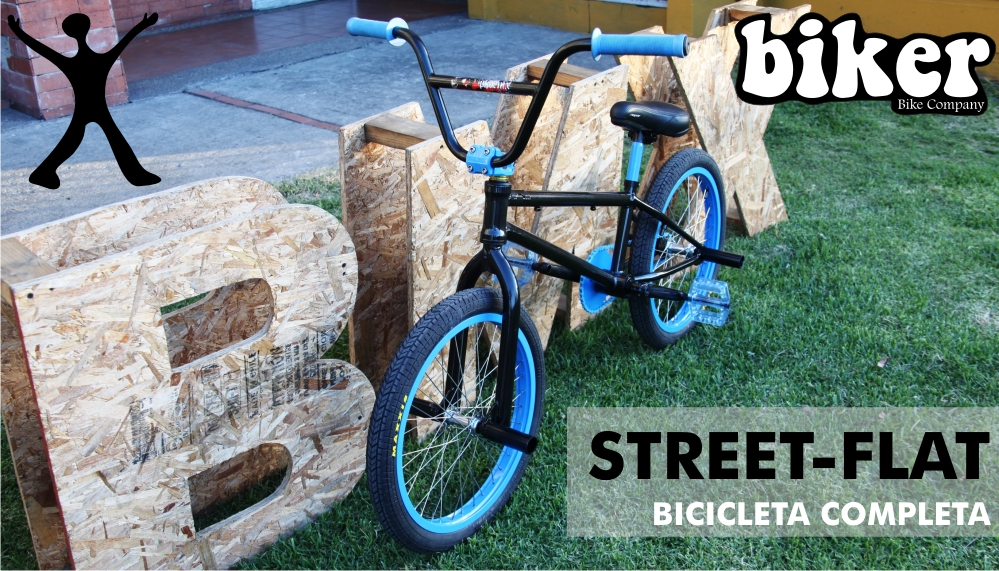 Biker Street-Flat Bicicleta Completa
