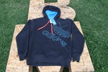 Buso Adidas Hoodie Azul