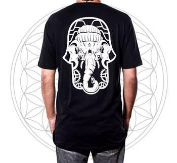 Camiseta Amulet Elephant Hindu