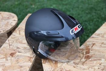 Casco EKO Bici-Moto Negro