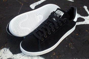 Zapatos ADIDAS Stan Smith Negras con suela blanca
