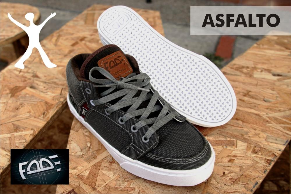 Zapatos FADE Asfalto