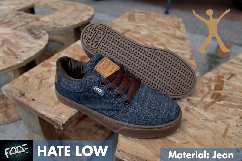 Zapatos Fade Hate Low Jean